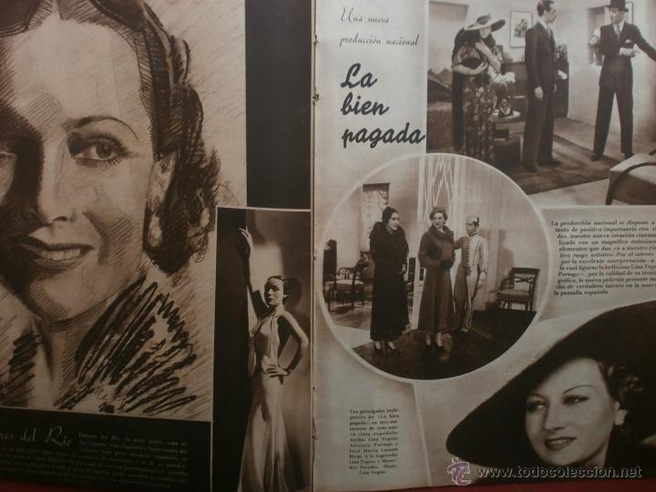 Cine: CINEGRAMAS Nº23.1935.DOLORES DEL RIO.CATALINA BARCENA,MAX BAER,VICENTE PADULA,FREDRIC MARCH,M.LINDER - Foto 10 - 40964482