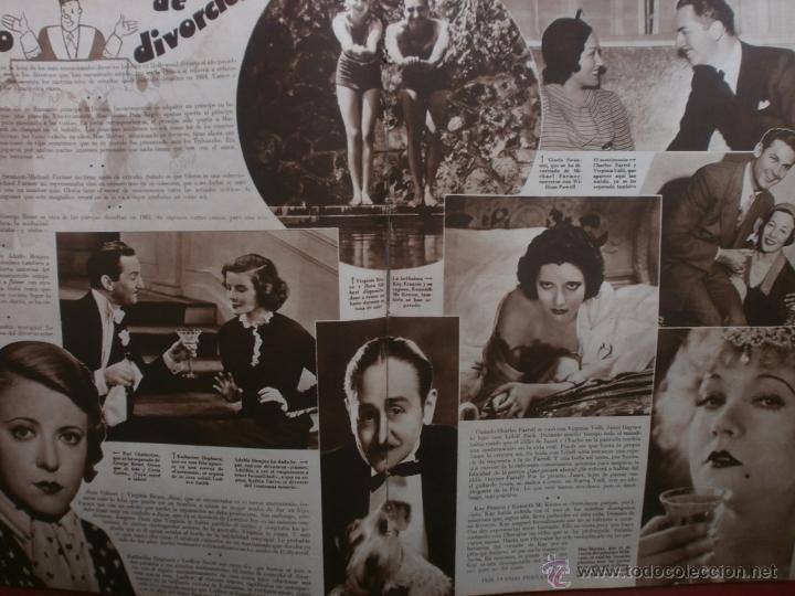Cine: CINEGRAMAS Nº23.1935.DOLORES DEL RIO.CATALINA BARCENA,MAX BAER,VICENTE PADULA,FREDRIC MARCH,M.LINDER - Foto 11 - 40964482