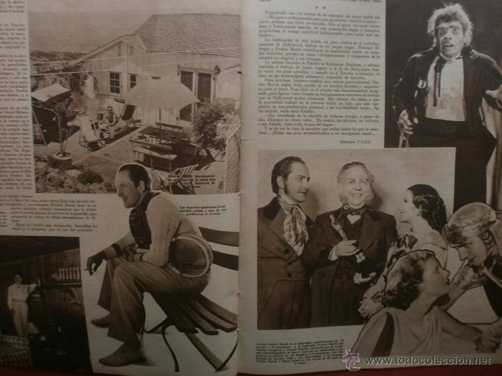 Cine: CINEGRAMAS Nº23.1935.DOLORES DEL RIO.CATALINA BARCENA,MAX BAER,VICENTE PADULA,FREDRIC MARCH,M.LINDER - Foto 13 - 40964482