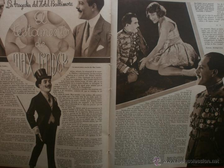 Cine: CINEGRAMAS Nº23.1935.DOLORES DEL RIO.CATALINA BARCENA,MAX BAER,VICENTE PADULA,FREDRIC MARCH,M.LINDER - Foto 14 - 40964482