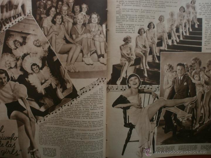 Cine: CINEGRAMAS Nº23.1935.DOLORES DEL RIO.CATALINA BARCENA,MAX BAER,VICENTE PADULA,FREDRIC MARCH,M.LINDER - Foto 15 - 40964482