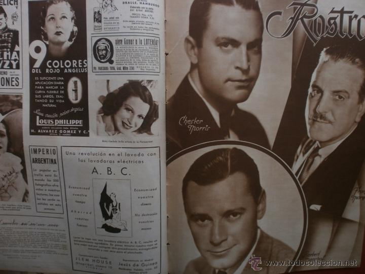 Cine: CINEGRAMAS Nº23.1935.DOLORES DEL RIO.CATALINA BARCENA,MAX BAER,VICENTE PADULA,FREDRIC MARCH,M.LINDER - Foto 17 - 40964482