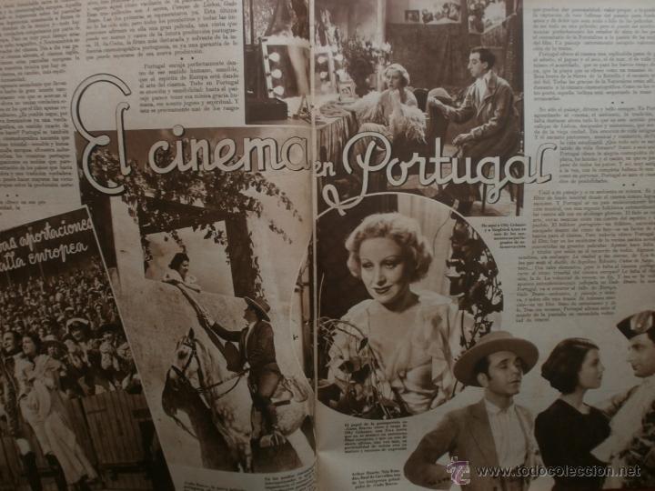 Cine: CINEGRAMAS Nº21.1935.ANN DVORAK.JEAN HARLOW,CARMINE GALLONE,FRITZ LANG,BARBARA STANWYCK,CLARK GABLE. - Foto 5 - 40964973