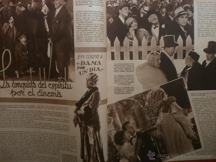 Cine: CINEGRAMAS Nº21.1935.ANN DVORAK.JEAN HARLOW,CARMINE GALLONE,FRITZ LANG,BARBARA STANWYCK,CLARK GABLE. - Foto 7 - 40964973