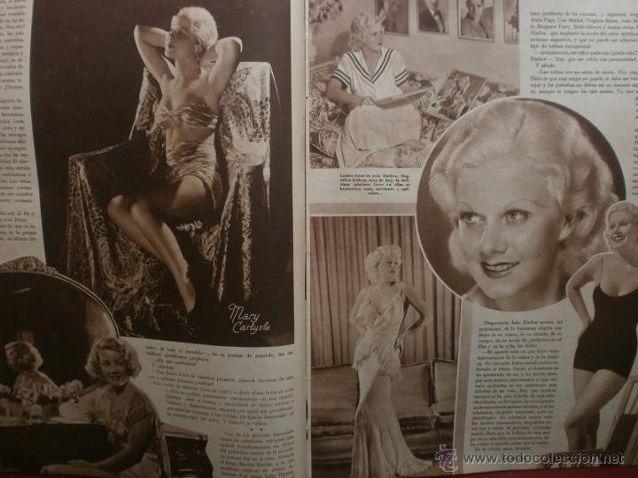 Cine: CINEGRAMAS Nº21.1935.ANN DVORAK.JEAN HARLOW,CARMINE GALLONE,FRITZ LANG,BARBARA STANWYCK,CLARK GABLE. - Foto 9 - 40964973