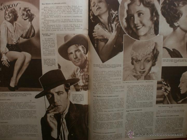 Cine: CINEGRAMAS Nº21.1935.ANN DVORAK.JEAN HARLOW,CARMINE GALLONE,FRITZ LANG,BARBARA STANWYCK,CLARK GABLE. - Foto 16 - 40964973