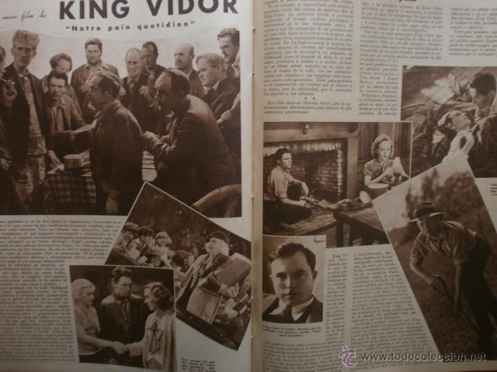 Cine: CINEGRAMAS Nº21.1935.ANN DVORAK.JEAN HARLOW,CARMINE GALLONE,FRITZ LANG,BARBARA STANWYCK,CLARK GABLE. - Foto 17 - 40964973