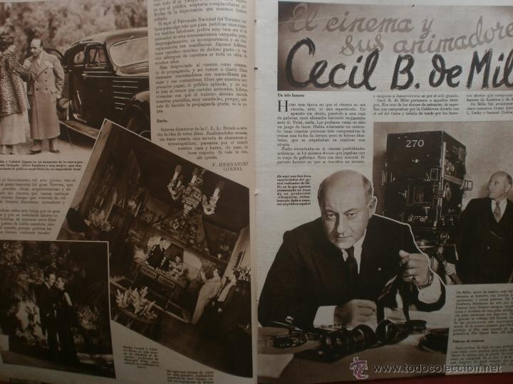 Cine: CINEGRAMAS Nº20.1935.PAT PATERSON.CECIL B.DE MILLE,GRETA GARBO,ANNA MAY WONG,WILLY FORST,K.DE NAGY. - Foto 3 - 40965220