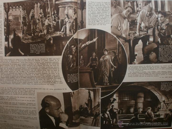 Cine: CINEGRAMAS Nº20.1935.PAT PATERSON.CECIL B.DE MILLE,GRETA GARBO,ANNA MAY WONG,WILLY FORST,K.DE NAGY. - Foto 4 - 40965220