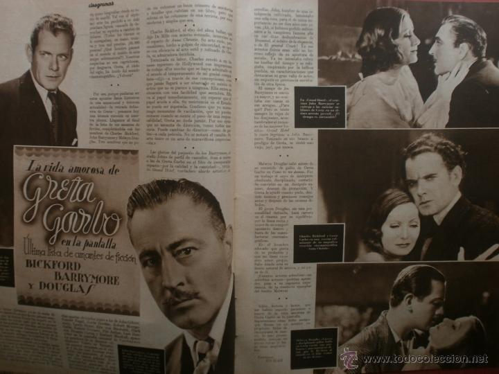 Cine: CINEGRAMAS Nº20.1935.PAT PATERSON.CECIL B.DE MILLE,GRETA GARBO,ANNA MAY WONG,WILLY FORST,K.DE NAGY. - Foto 5 - 40965220