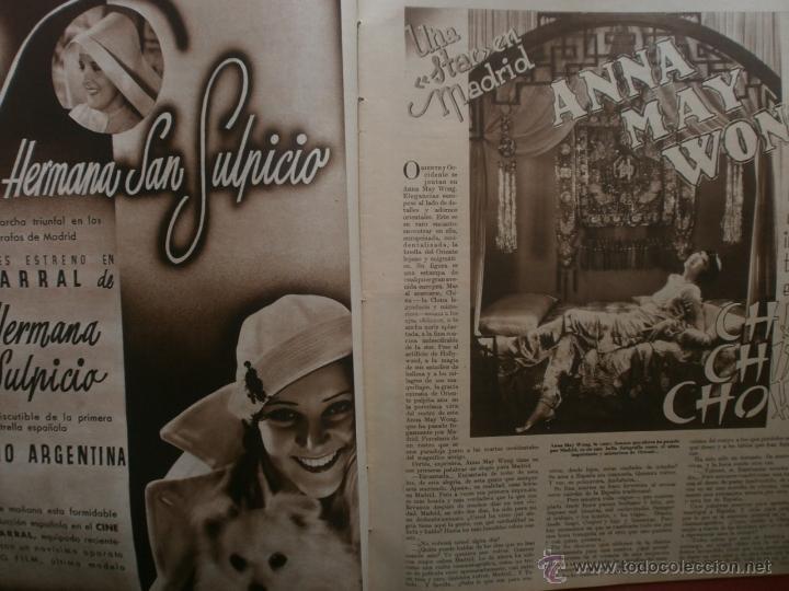 Cine: CINEGRAMAS Nº20.1935.PAT PATERSON.CECIL B.DE MILLE,GRETA GARBO,ANNA MAY WONG,WILLY FORST,K.DE NAGY. - Foto 6 - 40965220