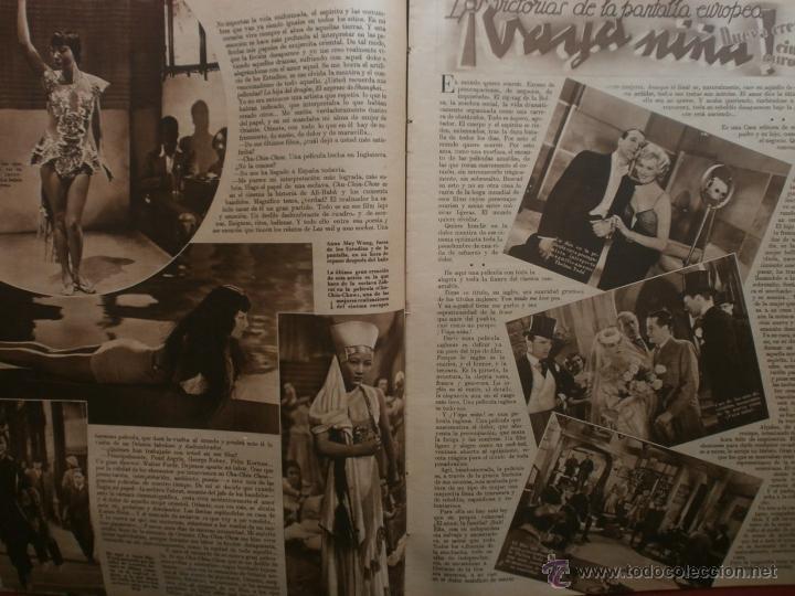 Cine: CINEGRAMAS Nº20.1935.PAT PATERSON.CECIL B.DE MILLE,GRETA GARBO,ANNA MAY WONG,WILLY FORST,K.DE NAGY. - Foto 7 - 40965220