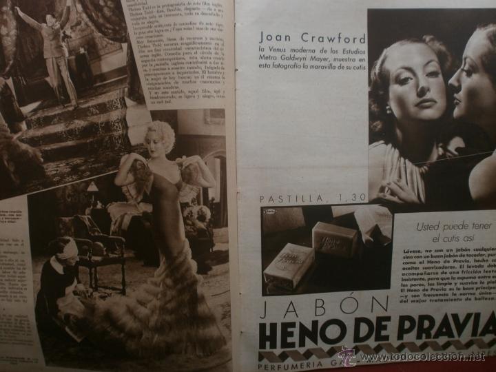 Cine: CINEGRAMAS Nº20.1935.PAT PATERSON.CECIL B.DE MILLE,GRETA GARBO,ANNA MAY WONG,WILLY FORST,K.DE NAGY. - Foto 8 - 40965220