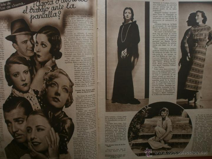 Cine: CINEGRAMAS Nº20.1935.PAT PATERSON.CECIL B.DE MILLE,GRETA GARBO,ANNA MAY WONG,WILLY FORST,K.DE NAGY. - Foto 10 - 40965220