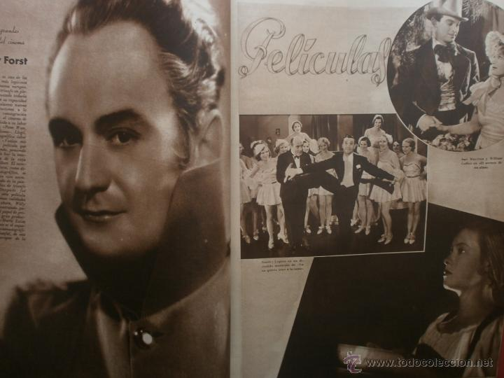 Cine: CINEGRAMAS Nº20.1935.PAT PATERSON.CECIL B.DE MILLE,GRETA GARBO,ANNA MAY WONG,WILLY FORST,K.DE NAGY. - Foto 11 - 40965220