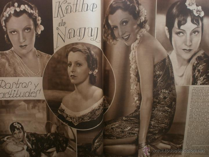 Cine: CINEGRAMAS Nº20.1935.PAT PATERSON.CECIL B.DE MILLE,GRETA GARBO,ANNA MAY WONG,WILLY FORST,K.DE NAGY. - Foto 12 - 40965220