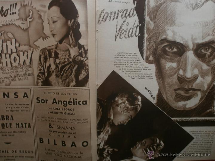 Cine: CINEGRAMAS Nº20.1935.PAT PATERSON.CECIL B.DE MILLE,GRETA GARBO,ANNA MAY WONG,WILLY FORST,K.DE NAGY. - Foto 13 - 40965220