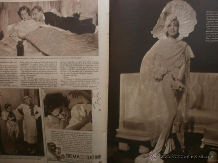Cine: CINEGRAMAS Nº20.1935.PAT PATERSON.CECIL B.DE MILLE,GRETA GARBO,ANNA MAY WONG,WILLY FORST,K.DE NAGY. - Foto 16 - 40965220