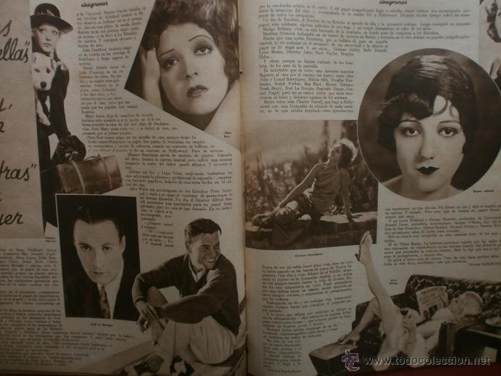 Cine: CINEGRAMAS Nº20.1935.PAT PATERSON.CECIL B.DE MILLE,GRETA GARBO,ANNA MAY WONG,WILLY FORST,K.DE NAGY. - Foto 18 - 40965220