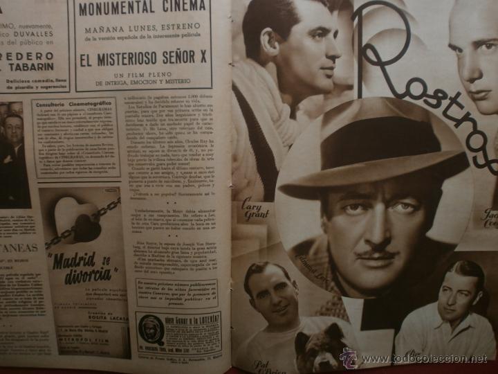 Cine: CINEGRAMAS Nº20.1935.PAT PATERSON.CECIL B.DE MILLE,GRETA GARBO,ANNA MAY WONG,WILLY FORST,K.DE NAGY. - Foto 19 - 40965220
