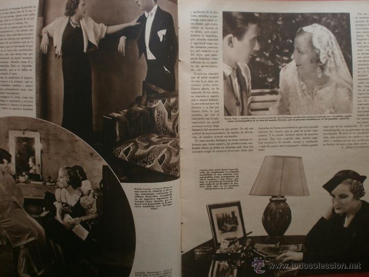 Cine: CINEGRAMAS Nº19.1935.BRIGITTE HELM.JEAN MURAT,SYLVIA SIDNEY,MARLENE DIETRICH,GRETA GARBO. - Foto 3 - 40965433