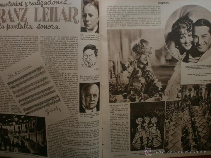 Cine: CINEGRAMAS Nº19.1935.BRIGITTE HELM.JEAN MURAT,SYLVIA SIDNEY,MARLENE DIETRICH,GRETA GARBO. - Foto 4 - 40965433