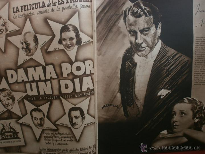 Cine: CINEGRAMAS Nº19.1935.BRIGITTE HELM.JEAN MURAT,SYLVIA SIDNEY,MARLENE DIETRICH,GRETA GARBO. - Foto 6 - 40965433