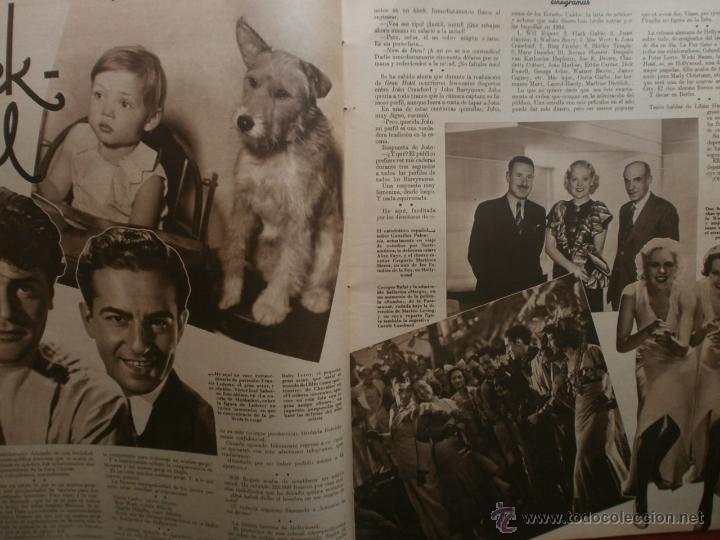 Cine: CINEGRAMAS Nº19.1935.BRIGITTE HELM.JEAN MURAT,SYLVIA SIDNEY,MARLENE DIETRICH,GRETA GARBO. - Foto 7 - 40965433