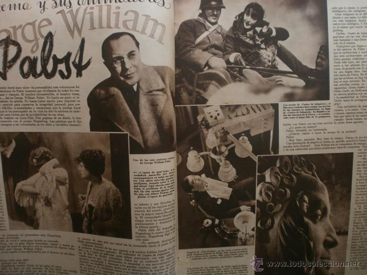 Cine: CINEGRAMAS Nº19.1935.BRIGITTE HELM.JEAN MURAT,SYLVIA SIDNEY,MARLENE DIETRICH,GRETA GARBO. - Foto 9 - 40965433
