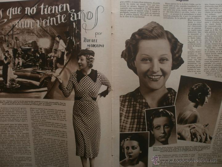 Cine: CINEGRAMAS Nº19.1935.BRIGITTE HELM.JEAN MURAT,SYLVIA SIDNEY,MARLENE DIETRICH,GRETA GARBO. - Foto 10 - 40965433