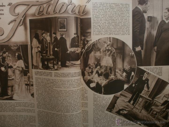 Cine: CINEGRAMAS Nº19.1935.BRIGITTE HELM.JEAN MURAT,SYLVIA SIDNEY,MARLENE DIETRICH,GRETA GARBO. - Foto 12 - 40965433
