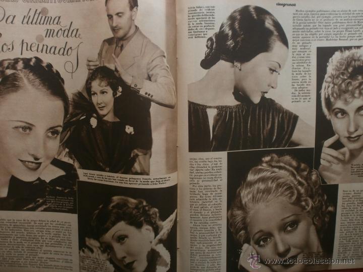 Cine: CINEGRAMAS Nº19.1935.BRIGITTE HELM.JEAN MURAT,SYLVIA SIDNEY,MARLENE DIETRICH,GRETA GARBO. - Foto 15 - 40965433