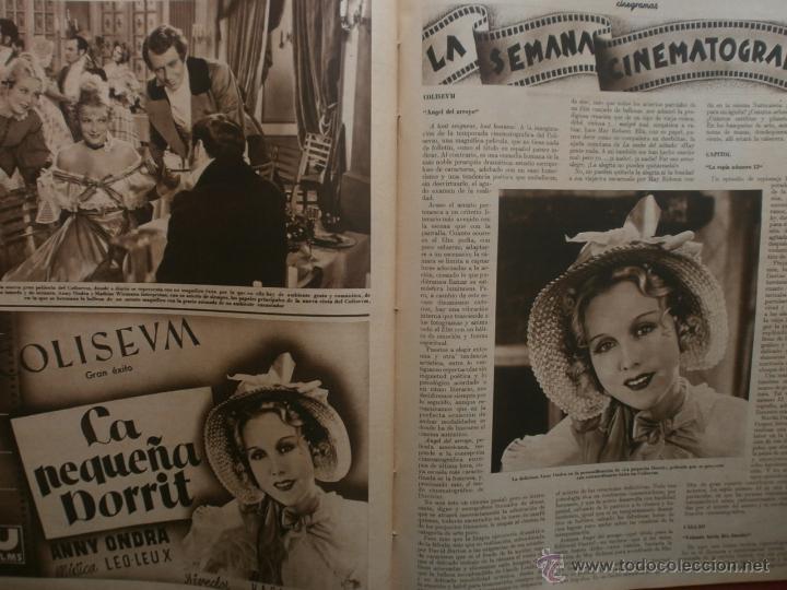 Cine: CINEGRAMAS Nº19.1935.BRIGITTE HELM.JEAN MURAT,SYLVIA SIDNEY,MARLENE DIETRICH,GRETA GARBO. - Foto 16 - 40965433