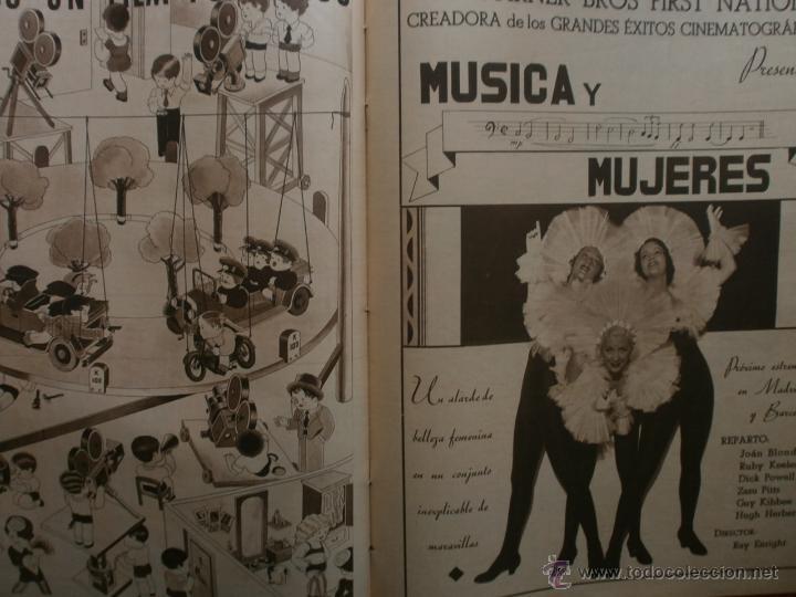 Cine: CINEGRAMAS Nº19.1935.BRIGITTE HELM.JEAN MURAT,SYLVIA SIDNEY,MARLENE DIETRICH,GRETA GARBO. - Foto 17 - 40965433