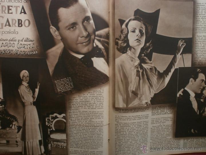 Cine: CINEGRAMAS Nº19.1935.BRIGITTE HELM.JEAN MURAT,SYLVIA SIDNEY,MARLENE DIETRICH,GRETA GARBO. - Foto 18 - 40965433