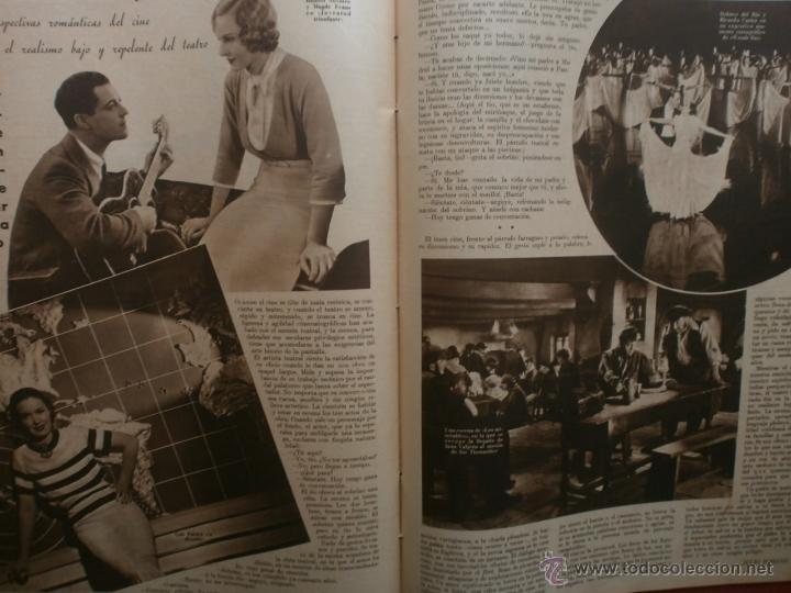 Cine: CINEGRAMAS Nº19.1935.BRIGITTE HELM.JEAN MURAT,SYLVIA SIDNEY,MARLENE DIETRICH,GRETA GARBO. - Foto 19 - 40965433