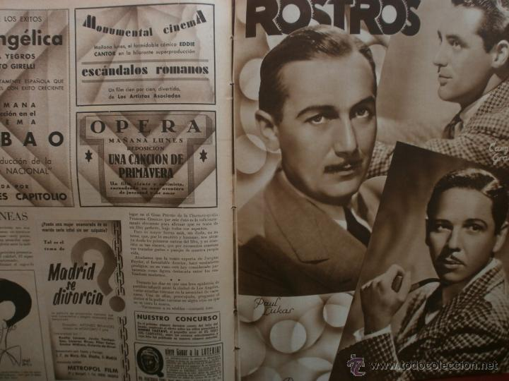 Cine: CINEGRAMAS Nº19.1935.BRIGITTE HELM.JEAN MURAT,SYLVIA SIDNEY,MARLENE DIETRICH,GRETA GARBO. - Foto 20 - 40965433