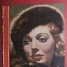 Cine: CINEGRAMAS Nº17.1935.LORETTA YOUNG.IRENE LOPEZ HEREDIA,ROUBEN MAMOULIAN,CLARK GABLE,GRETA GARBO.. Lote 40965940