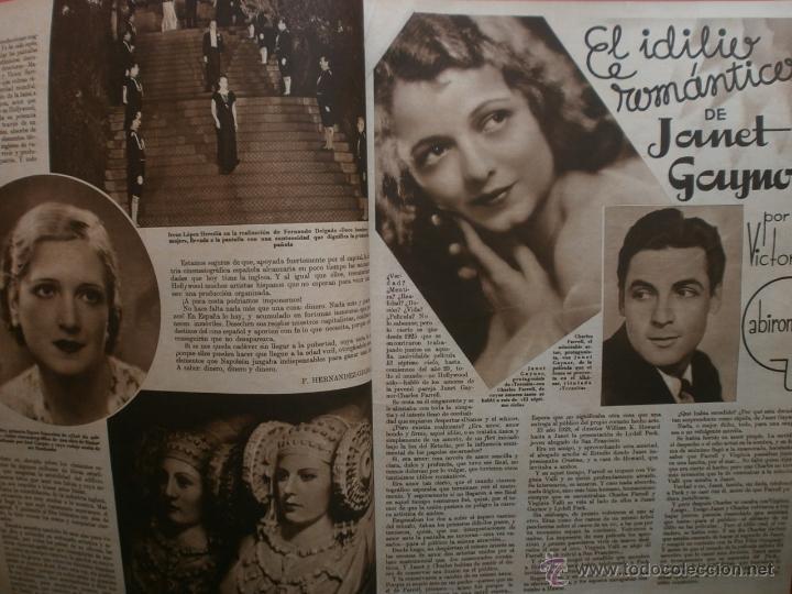 Cine: CINEGRAMAS Nº17.1935.LORETTA YOUNG.IRENE LOPEZ HEREDIA,ROUBEN MAMOULIAN,CLARK GABLE,GRETA GARBO. - Foto 3 - 40965940