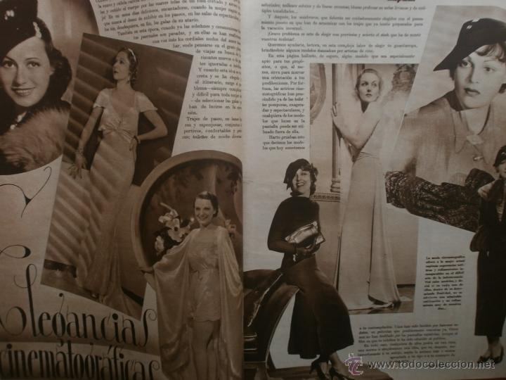 Cine: CINEGRAMAS Nº17.1935.LORETTA YOUNG.IRENE LOPEZ HEREDIA,ROUBEN MAMOULIAN,CLARK GABLE,GRETA GARBO. - Foto 7 - 40965940
