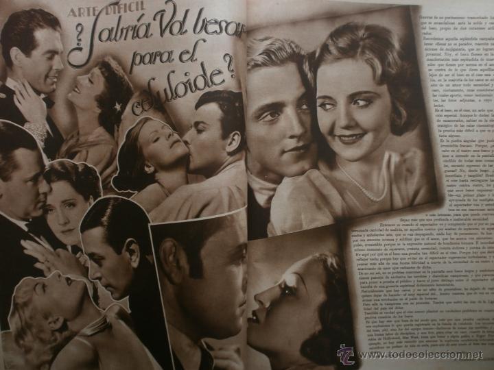 Cine: CINEGRAMAS Nº17.1935.LORETTA YOUNG.IRENE LOPEZ HEREDIA,ROUBEN MAMOULIAN,CLARK GABLE,GRETA GARBO. - Foto 10 - 40965940
