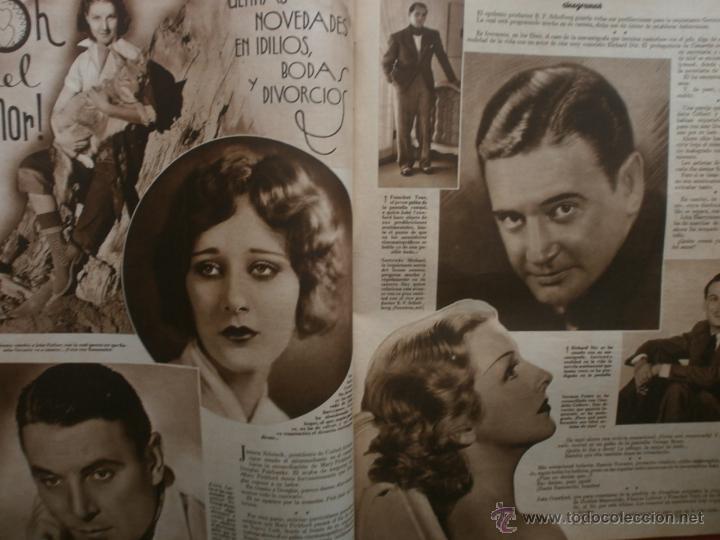 Cine: CINEGRAMAS Nº17.1935.LORETTA YOUNG.IRENE LOPEZ HEREDIA,ROUBEN MAMOULIAN,CLARK GABLE,GRETA GARBO. - Foto 13 - 40965940