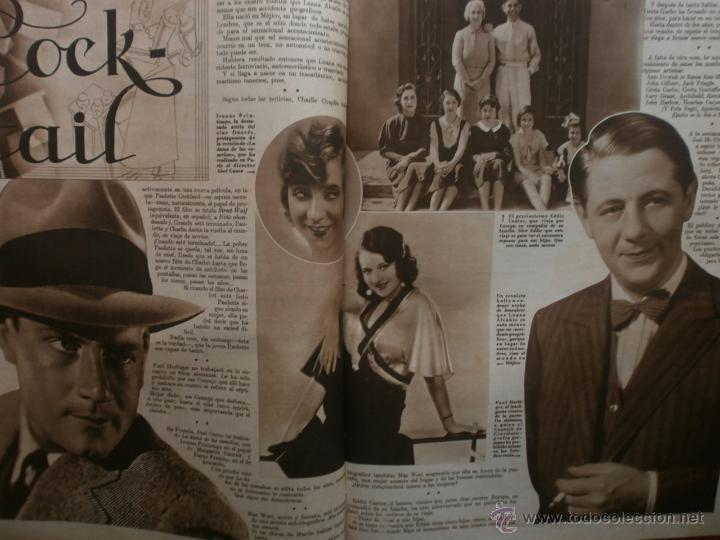 Cine: CINEGRAMAS Nº17.1935.LORETTA YOUNG.IRENE LOPEZ HEREDIA,ROUBEN MAMOULIAN,CLARK GABLE,GRETA GARBO. - Foto 14 - 40965940