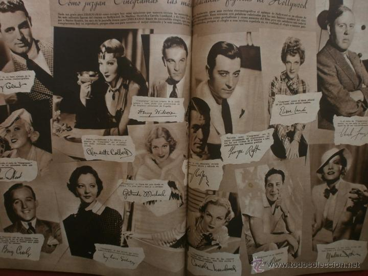 Cine: CINEGRAMAS Nº17.1935.LORETTA YOUNG.IRENE LOPEZ HEREDIA,ROUBEN MAMOULIAN,CLARK GABLE,GRETA GARBO. - Foto 15 - 40965940