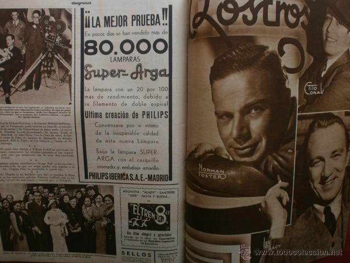 Cine: CINEGRAMAS Nº17.1935.LORETTA YOUNG.IRENE LOPEZ HEREDIA,ROUBEN MAMOULIAN,CLARK GABLE,GRETA GARBO. - Foto 16 - 40965940