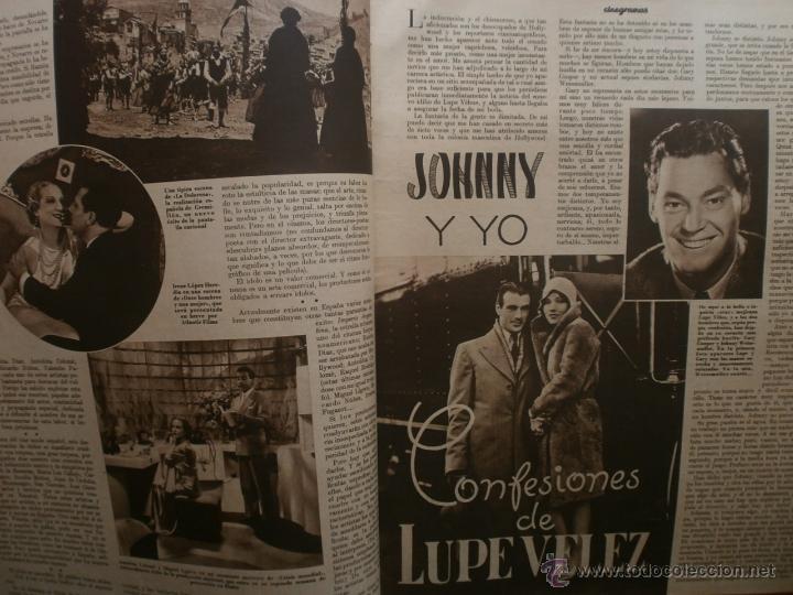 Cine: CINEGRAMAS Nº16.1934.SHIRLEY TEMPLE.LUPE VELEZ,LAS MARIONETAS,PAPA NOEL-HOLLYWOOD,CLUDETTE COLBERT. - Foto 3 - 40966142