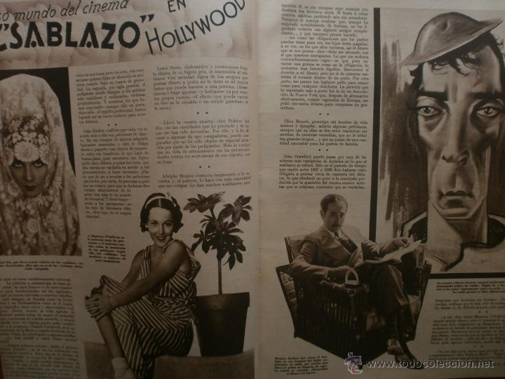 Cine: CINEGRAMAS Nº16.1934.SHIRLEY TEMPLE.LUPE VELEZ,LAS MARIONETAS,PAPA NOEL-HOLLYWOOD,CLUDETTE COLBERT. - Foto 4 - 40966142