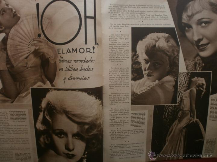 Cine: CINEGRAMAS Nº16.1934.SHIRLEY TEMPLE.LUPE VELEZ,LAS MARIONETAS,PAPA NOEL-HOLLYWOOD,CLUDETTE COLBERT. - Foto 6 - 40966142