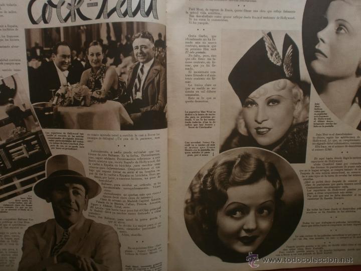 Cine: CINEGRAMAS Nº16.1934.SHIRLEY TEMPLE.LUPE VELEZ,LAS MARIONETAS,PAPA NOEL-HOLLYWOOD,CLUDETTE COLBERT. - Foto 7 - 40966142