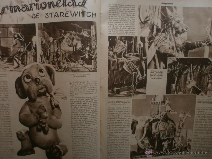 Cine: CINEGRAMAS Nº16.1934.SHIRLEY TEMPLE.LUPE VELEZ,LAS MARIONETAS,PAPA NOEL-HOLLYWOOD,CLUDETTE COLBERT. - Foto 10 - 40966142